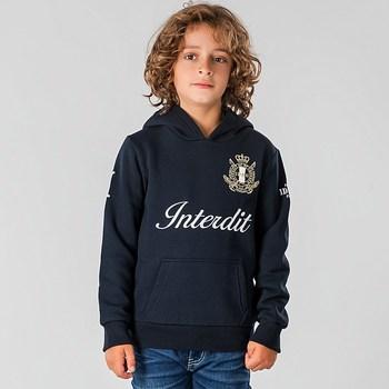 Vêtements Enfant Sweats Interdit De Me Gronder CASUAL Bleu marine