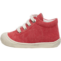 Chaussures Derbies Naturino COCOON-petites chaussures premiers pas en toile rouge