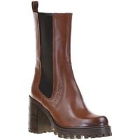 Chaussures Femme Bottines Spaziozero ITALIA Camel