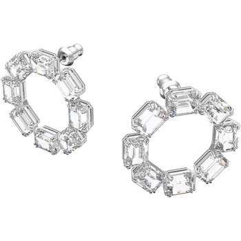 Montres & Bijoux Femme Boucles d'oreilles Swarovski Boucles d'oreilles  Millenia Blanc