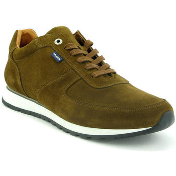 Chaussures Homme Baskets basses Atlanta Mocassin Sneakers en cuir Marron