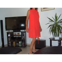 Vêtements Femme Robes courtes Lolaliza Robe rouge chic Rouge