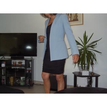 Vêtements Femme Vestes / Blazers Zara Veste habillée Zara Basic Bleu