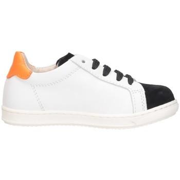 Chaussures Garçon Baskets basses Gioiecologiche 5099 BLANC NOIR