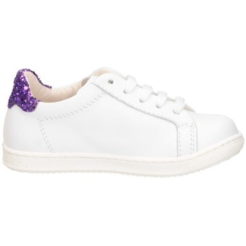 Chaussures Fille Baskets basses Gioiecologiche 5107 BLANC / VIOLET