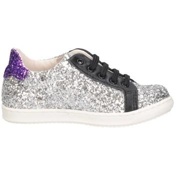 Chaussures Fille Baskets basses Gioiecologiche 5097/L ARGENT