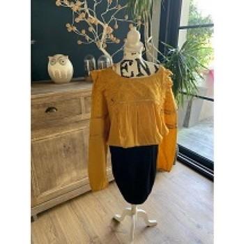 Vêtements Femme Tops / Blouses Grain De Malice Blouse Grain de malice Jaune