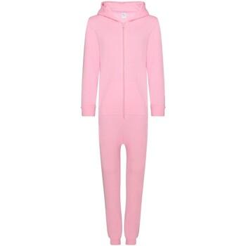 Vêtements Enfant Pyjamas / Chemises de nuit Colortone CC01J Rose