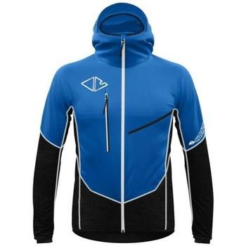 Vêtements Homme Vestes de survêtement Crazy Idea Veste Flame Homme Bleu Bleu
