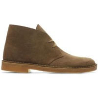 Chaussures Homme Boots Clarks Baskets Desert Boot Homme marron Marron