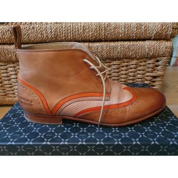 Chaussures Femme Boots Melvin & Hamilton Bottines melvin et hamilton Marron