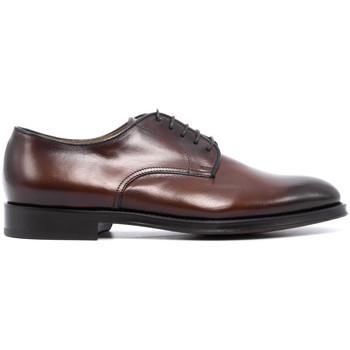 Chaussures Homme Derbies Doucal's DU1003RENNUF-MARRONE MARRONE