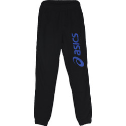 Vêtements Garçon Pantalons de survêtement Asics Big Logo Sweat Jr Pant Noir
