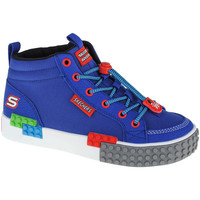 Chaussures Garçon Baskets montantes Skechers Kool Bricks Bleu marine