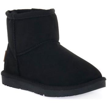 Chaussures Garçon Bottes de neige Grunland NERO 14CROM Nero