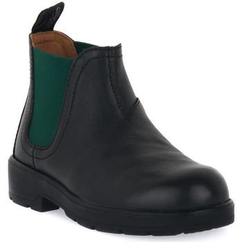Chaussures Garçon Boots Grunland NERO 88TABA Nero