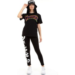 Vêtements Femme T-shirts manches courtes Disclaimer 50934 Noir