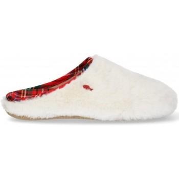 Chaussures Femme Chaussons Hot Potatoes CHAUSSONS DE MAISON FEMME PATATES CHAUDES 64289 Blanc