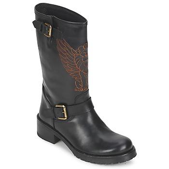 Bottines / Boots Pastelle ANGEL Noir 350x350