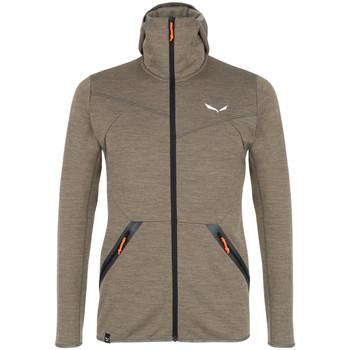 Vêtements Homme Polaires Salewa Bluza  Nuvolao Alpinewool® 28051-7951 brązowy