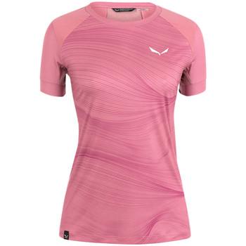 Vêtements Femme Les Tropéziennes par M Be Salewa Koszulka  Seceda Dry W 28070-6570 różowy