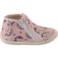 Chaussures Chaussons Bellamy Pantoufles fille -  - Rose - 19 ROSE
