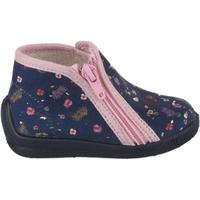 Chaussures Fille Chaussons Bellamy Pantoufles fille -  - Bleu marine - 22 BLEU