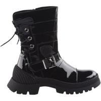 Chaussures Femme Boots Philippe Morvan Boots femme -  - Noir verni - 36 NOIR