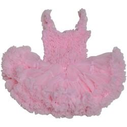 Vêtements Fille Robes courtes Interdit De Me Gronder BELLISSIMA Rose