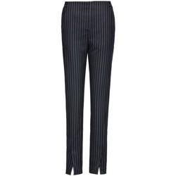 Vêtements Femme Chinos / Carrots Smart & Joy Mangoustan Bleu marine