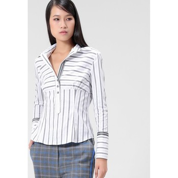 Vêtements Femme Chemises / Chemisiers Smart & Joy Jamalac Blanc