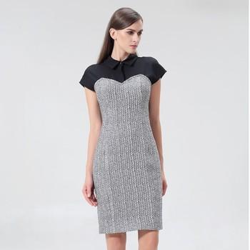 Vêtements Femme Robes courtes Smart & Joy Jamelon Argent