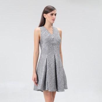 Vêtements Femme Robes courtes Smart & Joy Jujube Argent