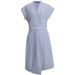 Vêtements Femme Robes courtes Smart & Joy Kiwaï Bleu gris