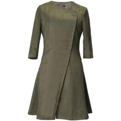 Vêtements Femme Robes courtes Smart & Joy Litchi Vert kaki