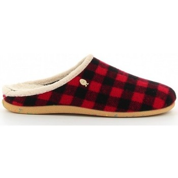 Chaussures Homme Chaussons Hot Potatoes CHAUSSONS HOMME PATATES CHAUDES 61077 Rouge