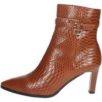 Chaussures Femme Boots Braccialini I58 Marron cuir