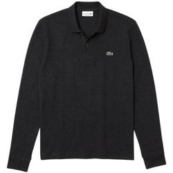 Vêtements Femme Polos manches longues Lacoste Polo  à manches longues REF 54005 EL6 gris fonce Gris