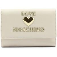 Sacs Femme Portefeuilles Love Moschino JC5639PP1DLF0110 Creme