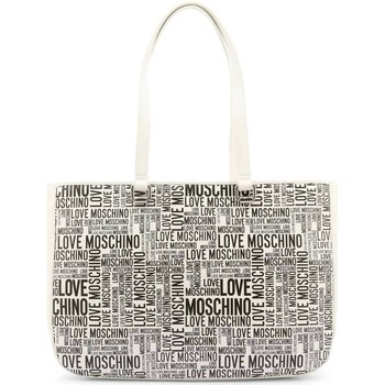Sacs Femme Sacs porté main Love Moschino JC4156PP1DLE110A Blanc, Noir