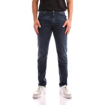 Vêtements Homme Jeans droit Roy Rogers A21RRU075D4631891 BLUE JEANS