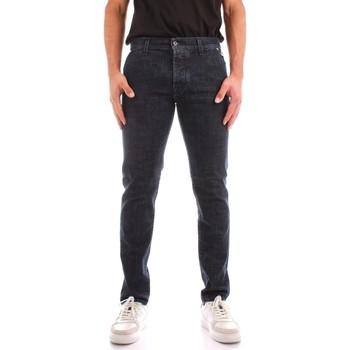 Vêtements Homme Jeans droit Roy Rogers A21RRU006D4390963 BLUE JEANS