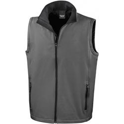 Vêtements Homme Blousons Result RS232M Gris foncé / noir