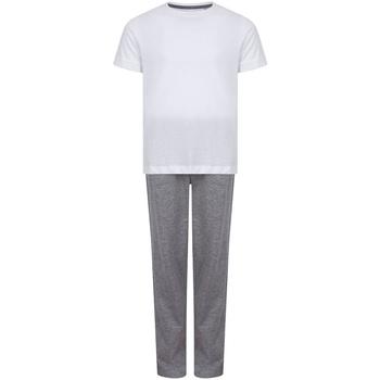Vêtements Fille Pyjamas / Chemises de nuit Towel City TC59 Blanc / gris