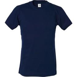 Vêtements Garçon Et acceptez notre Polique de Protection des Données Tee Jays TJ1100B Bleu marine