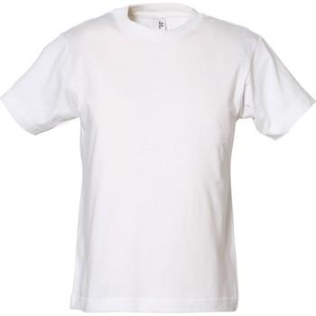 Vêtements Garçon Et acceptez notre Polique de Protection des Données Tee Jays TJ1100B Blanc
