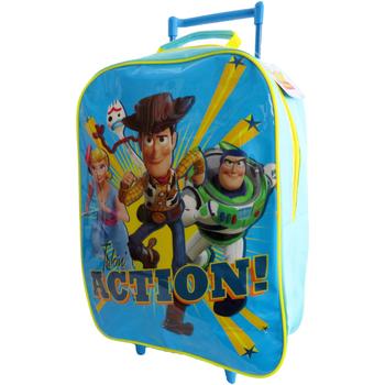 Sacs Enfant Sacs / Cartables à roulettes Toy Story  Bleu / jaune