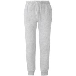 Vêtements Pantalons de survêtement Fruit Of The Loom SS905 Gris