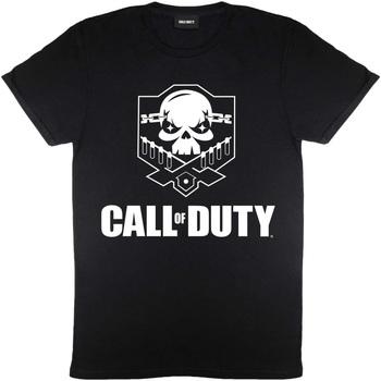 Vêtements Femme T-shirts manches courtes Call Of Duty  Noir