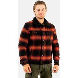 Vêtements Homme Manteaux Superdry m5011109a 4uu redwood ombre rouge